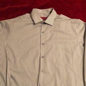 Alfani fitted dress shirt 16 1/2- 34/35 L